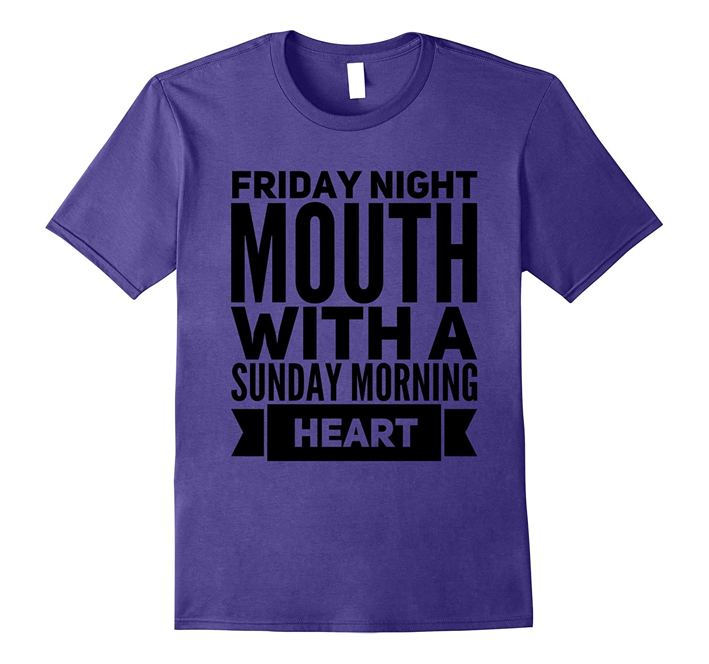 Girl Humor T-shirt Friday Night Style-Teehay
