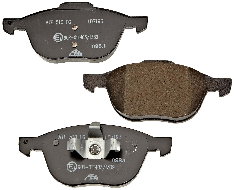 ATE 13047071932 Ceramic Disc Brake Pad Set Continental Reifen Deutschland GmbH 13.0470-7193.2