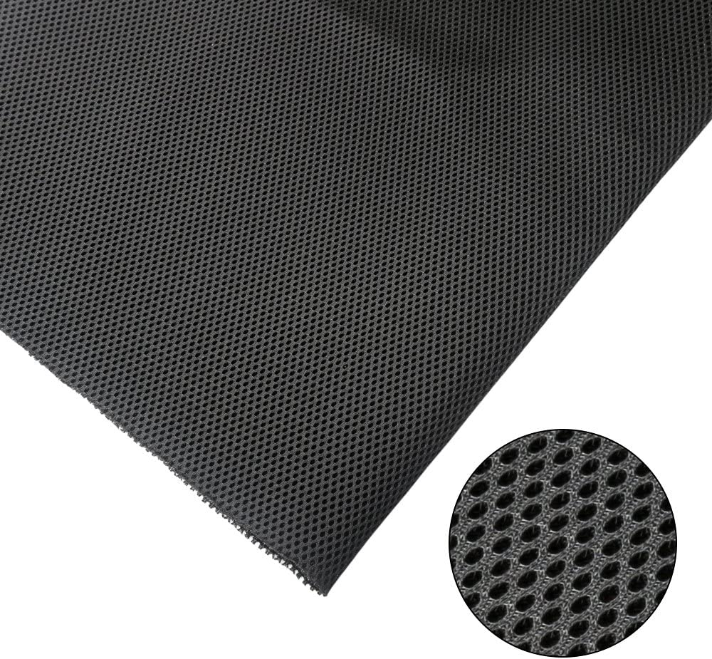 Brown Zer one 140cm x 50cm Speaker Grill Cloth Fabric Dustproof Speaker Mesh Cloth Protective Grille Cover for Stereo Audio Speaker