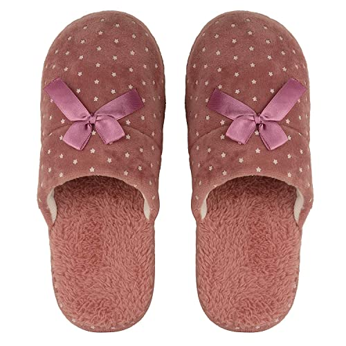 c2fc5f016f61d8 DRUNKEN Women s Star Stripes Clog Slippers Memory Foam House Slipper (Euro  36