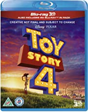 Toy Story 4 3D Blu-ray