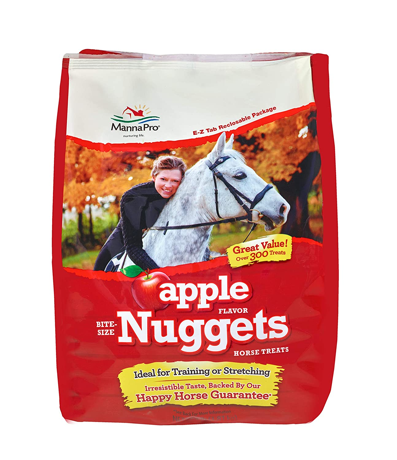 Manna Pro Carrot and Spice Bite Size Nuggets, 4 Lb Manna Pro- Pets 1000008