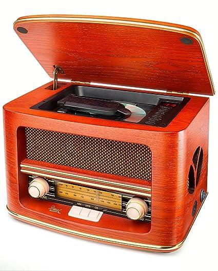 Dual NR 1 CD - Microcadena (estéreo), marrón (importado)