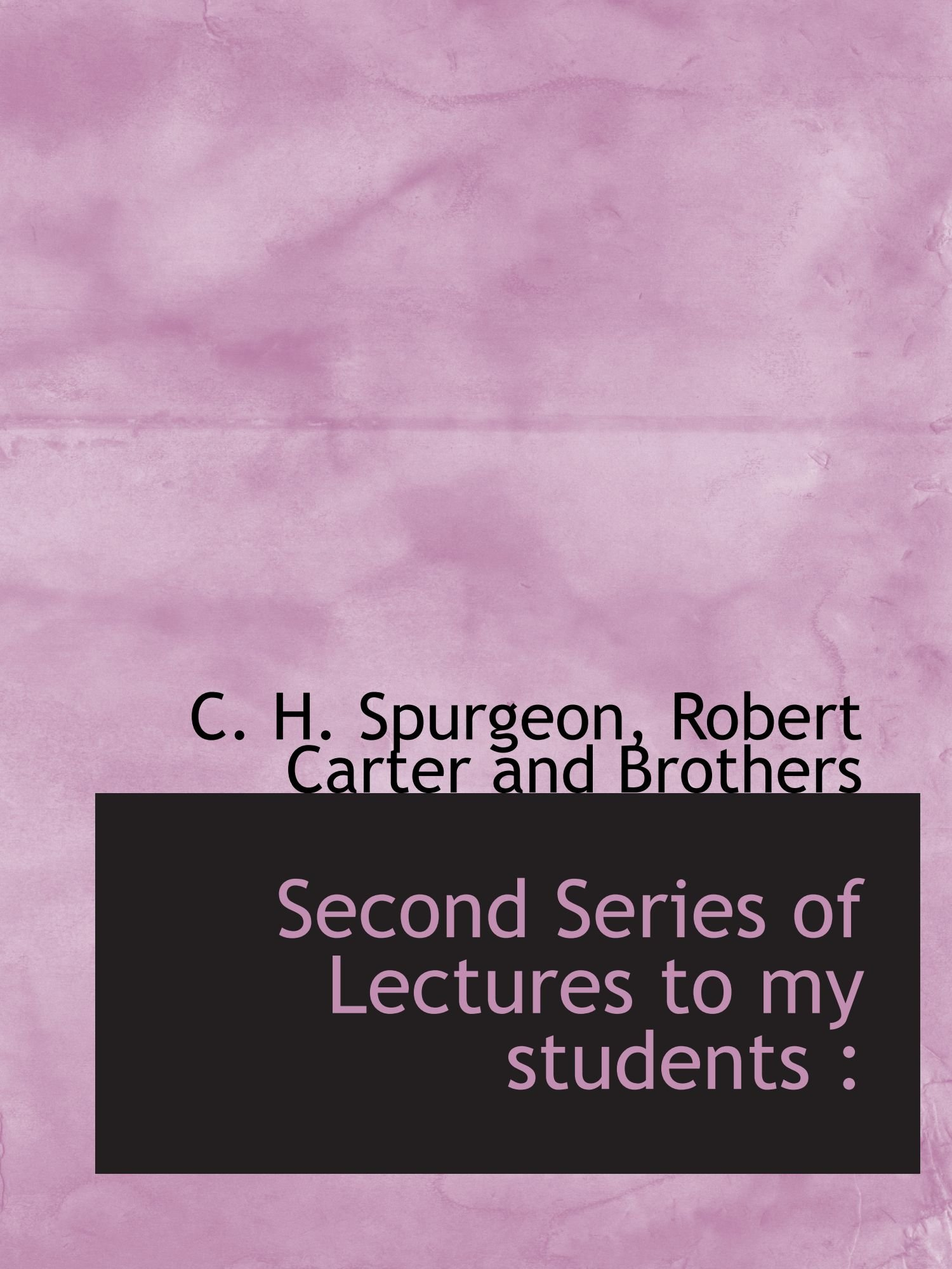 Download Second Series of Lectures to my students : ebook