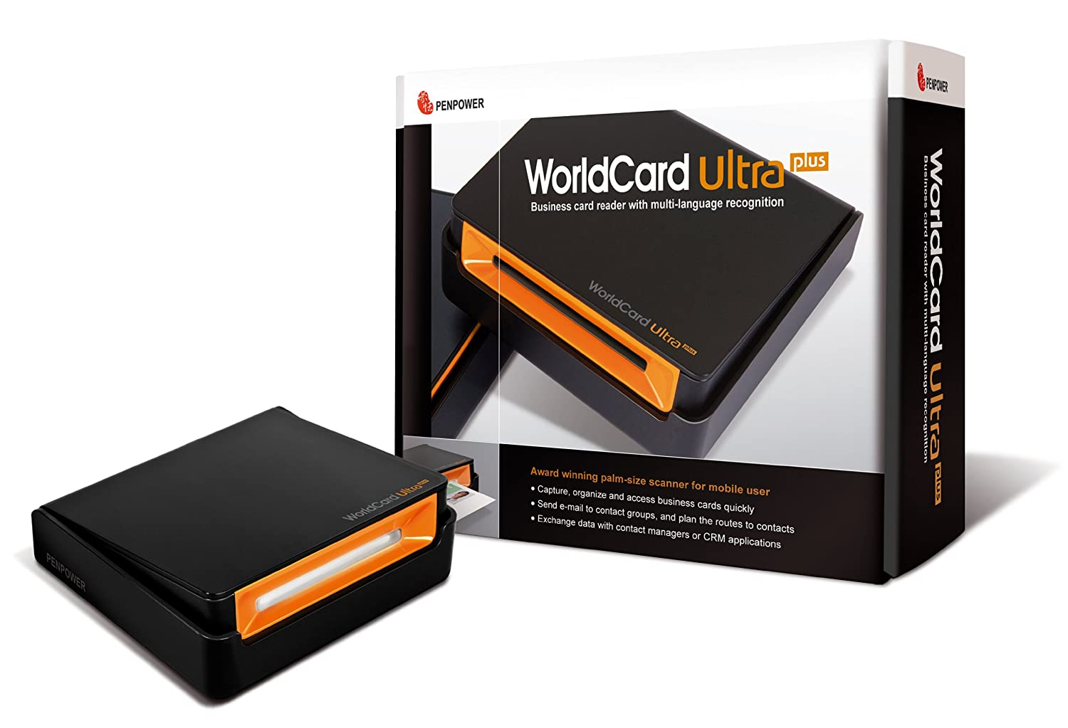 Amazon.com: Penpower Portable Color Business Card Scanner WorldCard ...