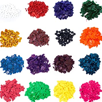 Amazon.com: Candle Shop - 16 dye colors - Dye chips for making ...