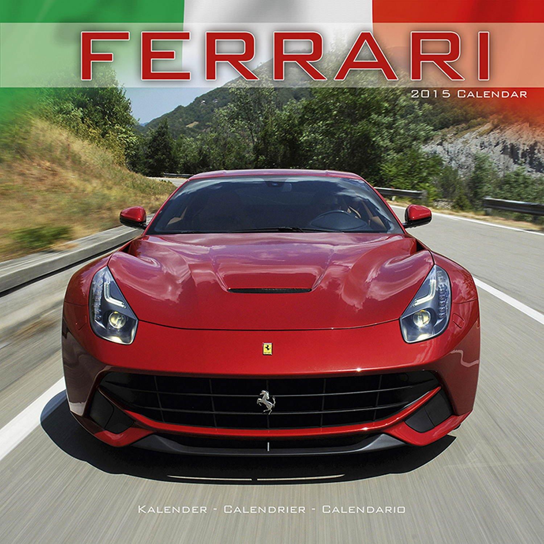 Ferrari Calendar- 2015 Wall calendars - Car Calendar - Automobile Calendar - Monthly Wall Calendar by Avonside pdf epub
