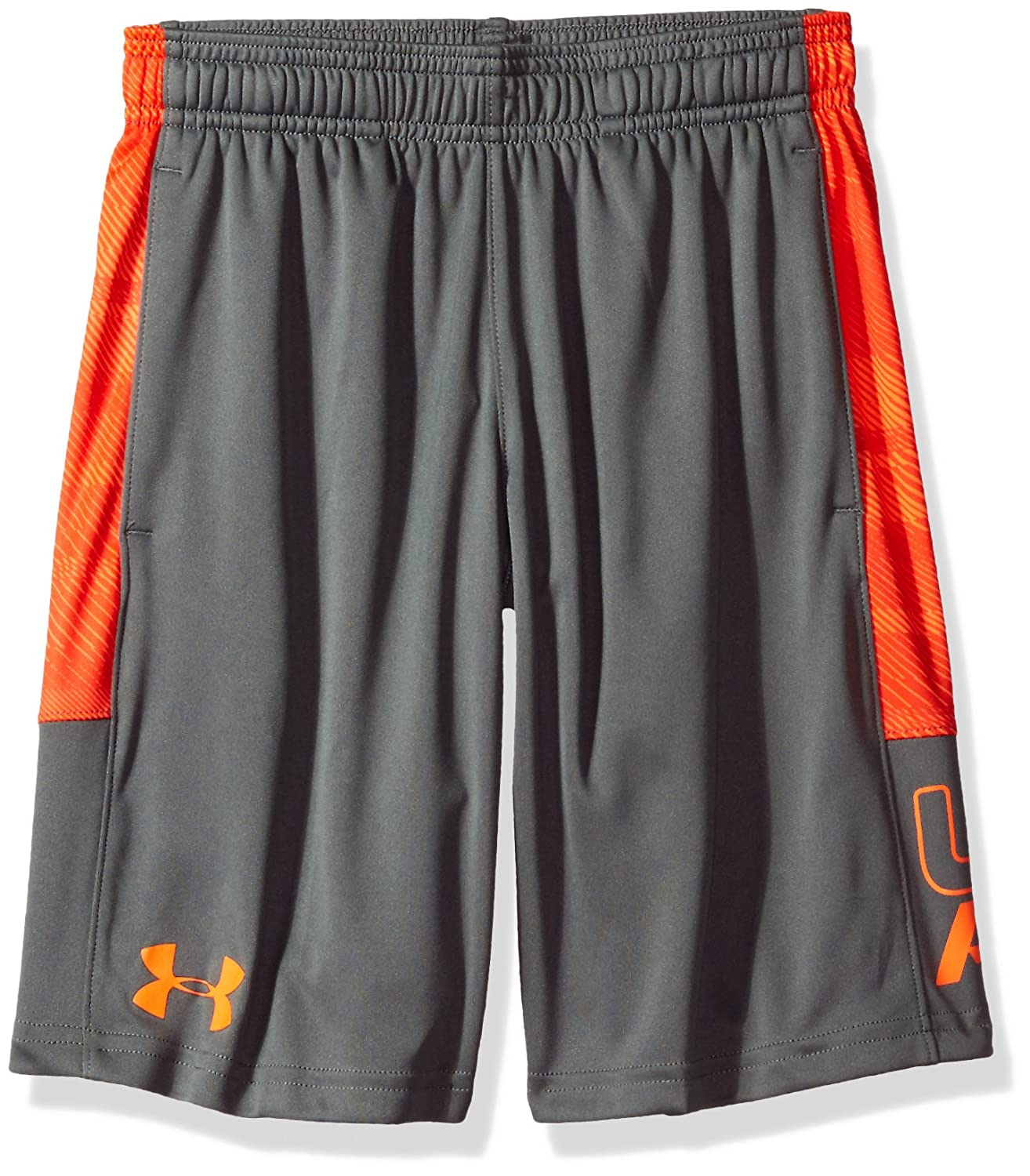 Under Armour Ua Stunt Printed Short, Pantaloncino Bambino 1299998-007