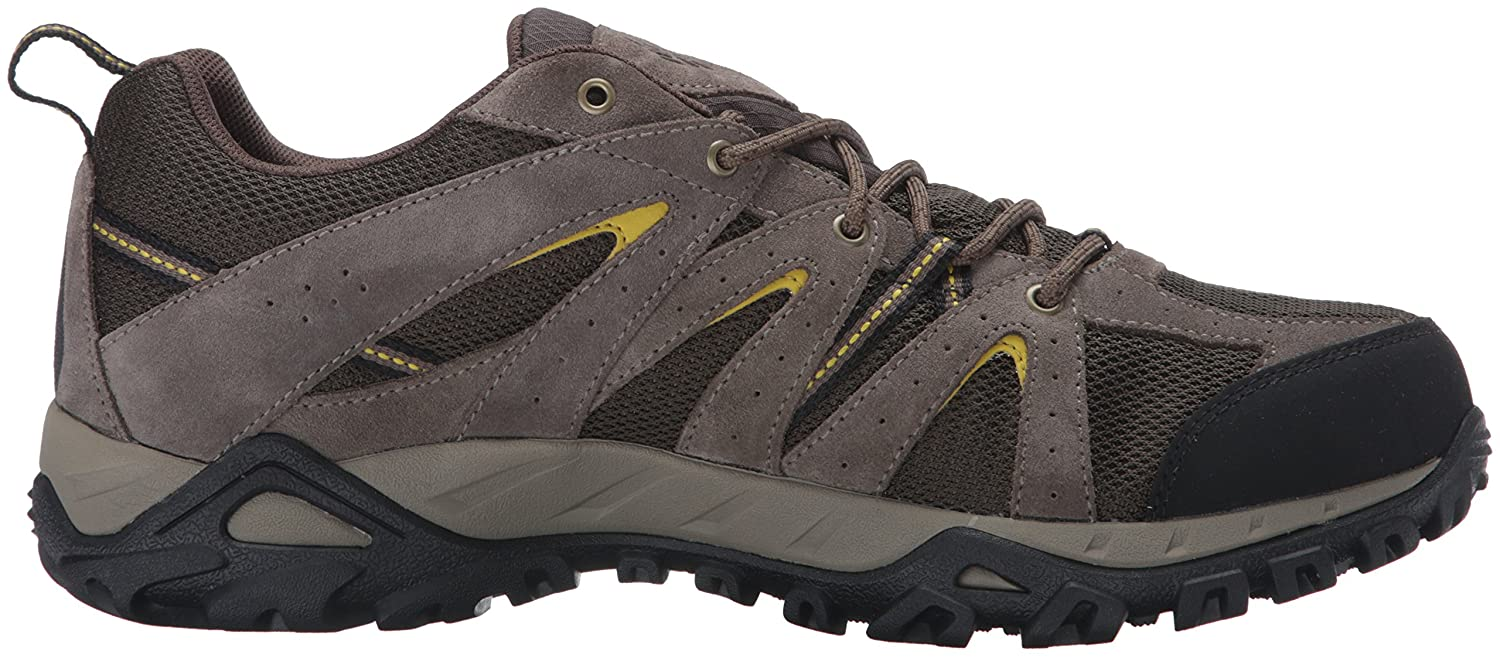 Columbia Men's Grand Canyon Outdry Hiking Sneakers, Brown Suede, 14 M