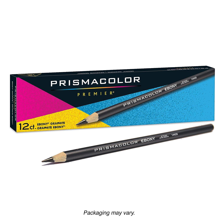 B00006RVSK Prismacolor Ebony Graphite Drawing Pencils, Black,12-Count 81-X3cAVygL