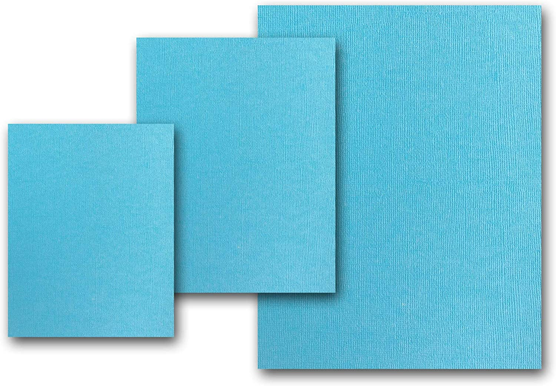 Etc. Matches Martha Stewart Splash DIY Projects Great for Scrapbooking Premium Pearlized Metallic Textured Splash Blue Card Stock 20 Sheets Flat Cards 12 x 12 Crafts