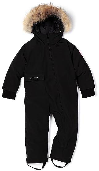 Canada Goose Baby SnowSuit negro