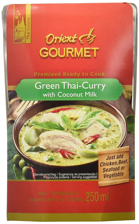 Orient Gourmet, Salsa de curry - 12 de 250 ml. (Total 3000 ml ...