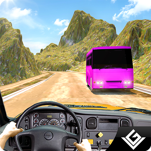 Bus Transporter - Offroad City Tourist Bus Simulator 3D: Transport Tourist In Bus Driving Parking Racing Simulation Transporter Adventure Mission Games Free For Kids 2018