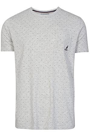 Kangol - Polo - para Hombre Gris Ash Grey Marl Large: Amazon.es ...