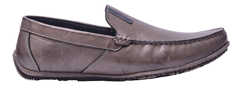 Vogar Mocasines Cuero Zapatos Verano Hombre VG5056 EU 42 / 28.6 cm|Marrón
