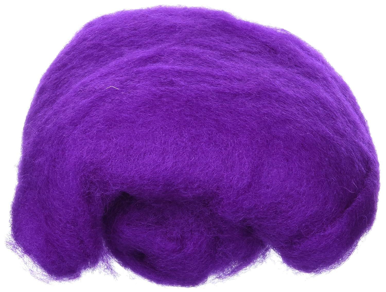 Efco 50 g Wool for Felting, Mauve 1008041