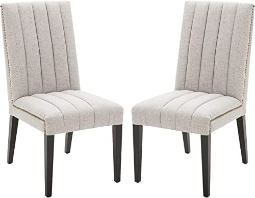 Amazon Brand Stone Beam Channel-Back Dining Chair