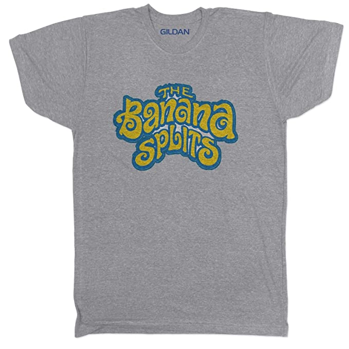 Banana Splits Cartoon Kids 80s 90s TV Vintage Movie Film Retro Mens T Shirt
