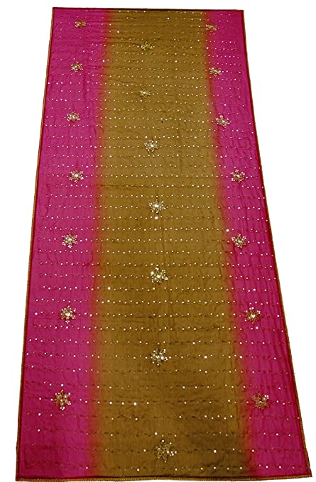 Amazon Women Indian Embroidered Dupatta Georgette Suit Chunni