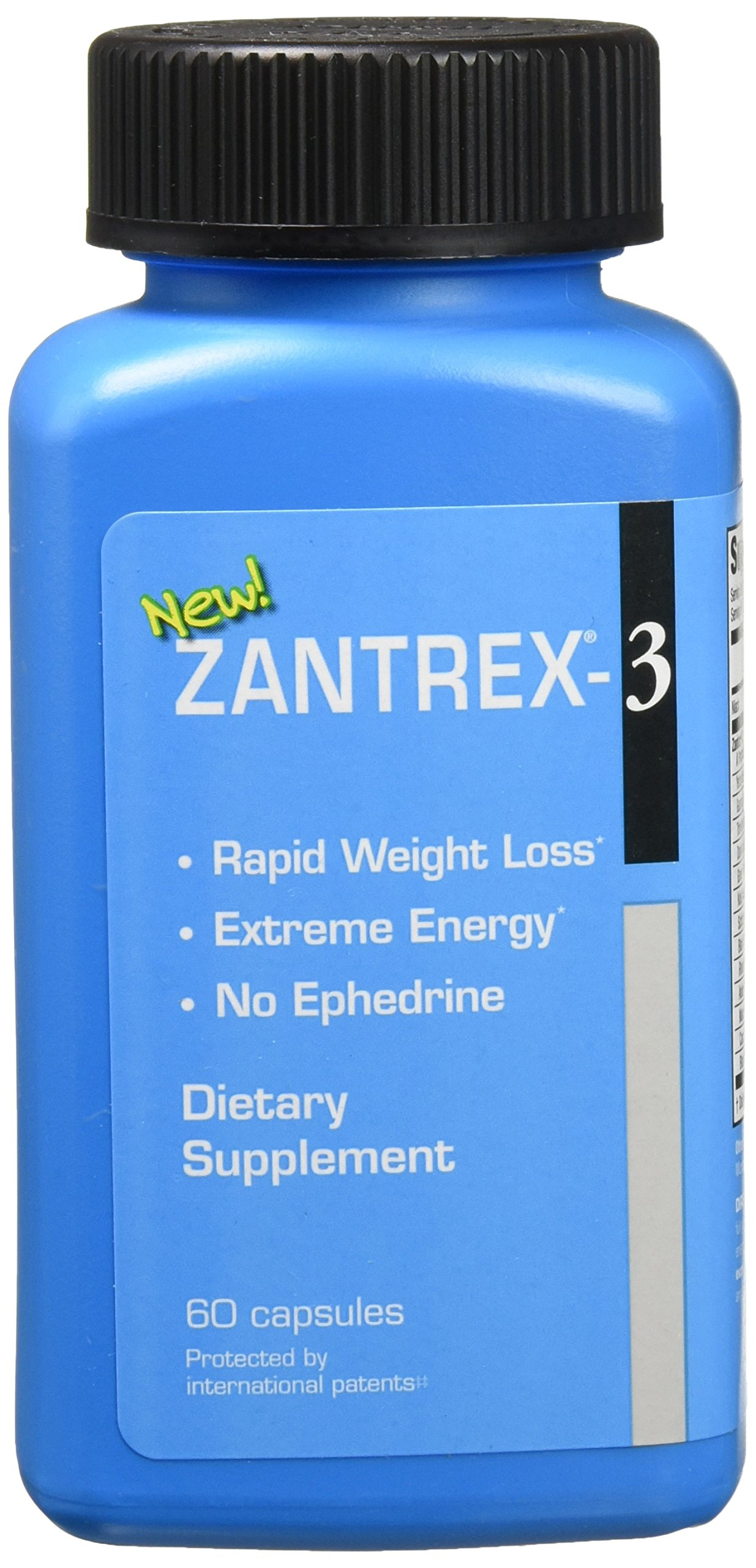Basic Research Zantrex-3 Supplement, Blue, 120 Count by Basic Research