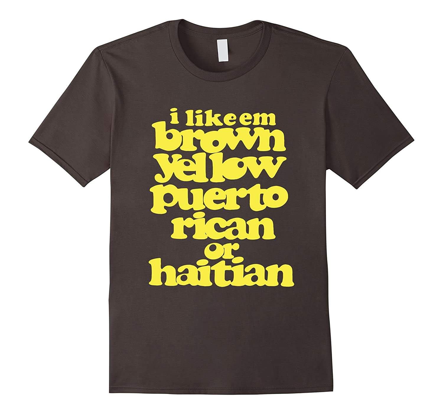 Brown yellow puerto rican or haitian