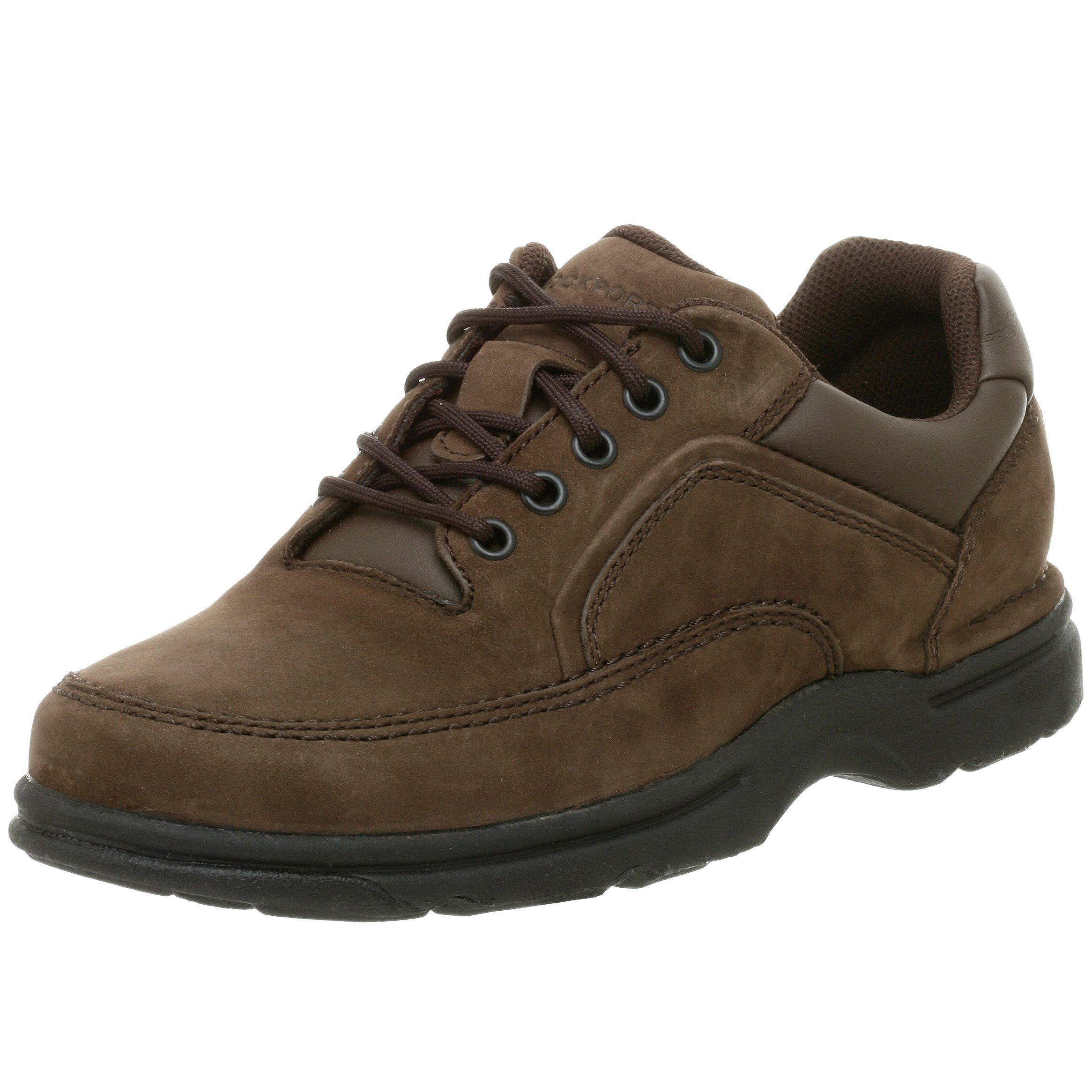 Rockport Men's Eureka Walking Shoe-Chocolate-12  M by Rockport