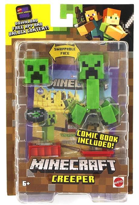Amazon.com: Minecraft Comic Maker Creeper 3.25