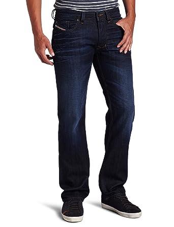 Diesel Men's Larkee Regular Straight-Leg Jean 0073N, Denim, 26x30