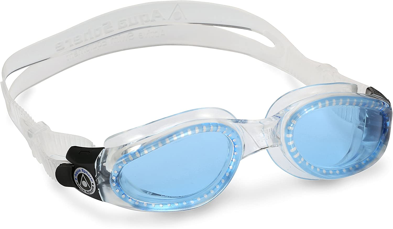 Aqua Sphere - Gafas de natación Kaiman para Adulto, Color Negro