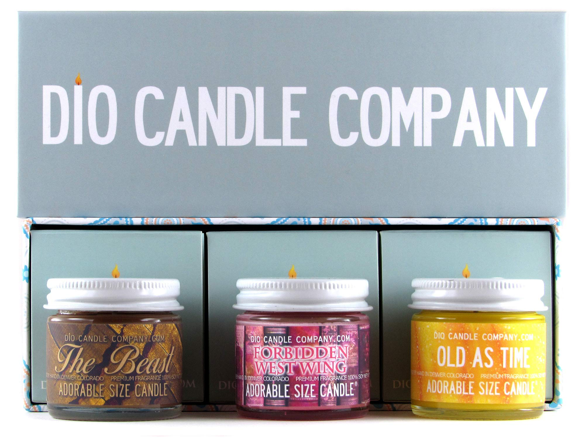 Adorable Size Candle Love Hostage Collector's Gift Set