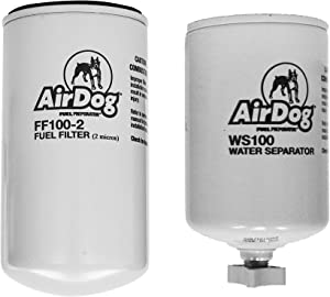 AirDog Pre-Filter WS100 and Fuel Filter FF100-2 Combo Pack