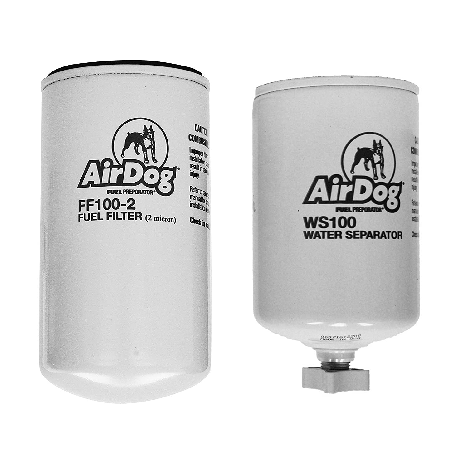 Amazon.com: AirDog Water Separator and Fuel Filter Combo Includes The WS100  Water Separator and the FF100-2 Fuel Filter For AirDog Fuel Pumps - See ...