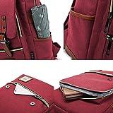 Canvas Backpack - school backpack,Lightweight