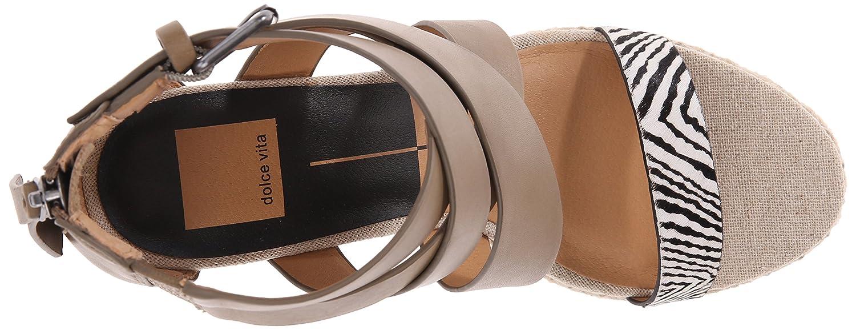 Dolce Vita Women's KOVA Wedge Sandal B017JFSVVI 8.5 B(M) US|Olive