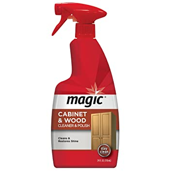 Magic Wood Cleaner and Polish - 24 Ounce - Use As Wood Furniture Cleaner Wood  sc 1 st  Amazon.com & Amazon.com: Magic Wood Cleaner and Polish - 24 Ounce - Use As Wood ...