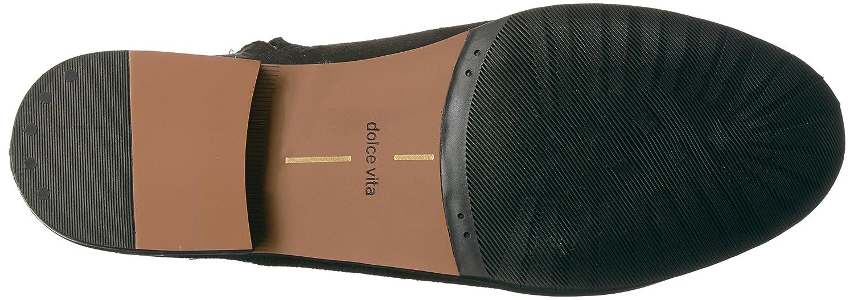 Dolce Vita Women's NEELY1 Fashion Boot B071K9XQ3V 9.5 B(M) US|Black Microsuede
