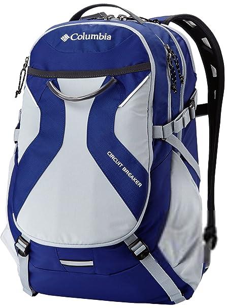 Columbia Breaker mochila mochila para portátil estudiante bolsa morado gris