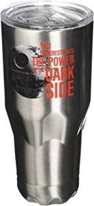 Vandor Star Wars Dark Side 30-Ounce Stainless Steel Vacuum Travel Tumbler (99209)