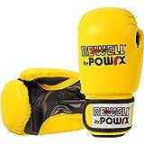 Kinder Kunstleder Boxhandschuhe 6 Oz in Rot oder Gelb / Schwarz