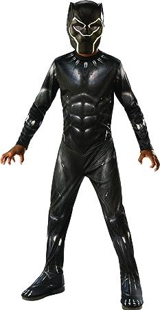 Disfraz infantil de Black Panther original de la licencia Avengers,Para disfrazarte de tu personaje