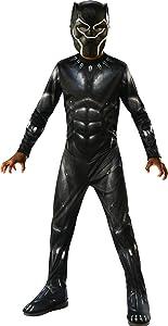 Rubie's Black Panther Child's Costume, Black/Grey, Small