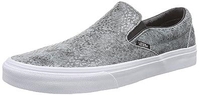 Schuhe - CLASSIC SLIP ON - pebble snake black, Größe:41 Vans