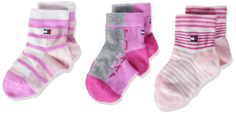 Tommy Hilfiger Baby-Mädchen Socken, 3er Pack 485015001