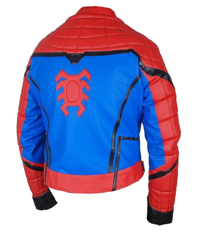 Amazon.com: Flesh & Hide F&H Boys Spiderman Homecoming Tom Holland Jacket: Clothing