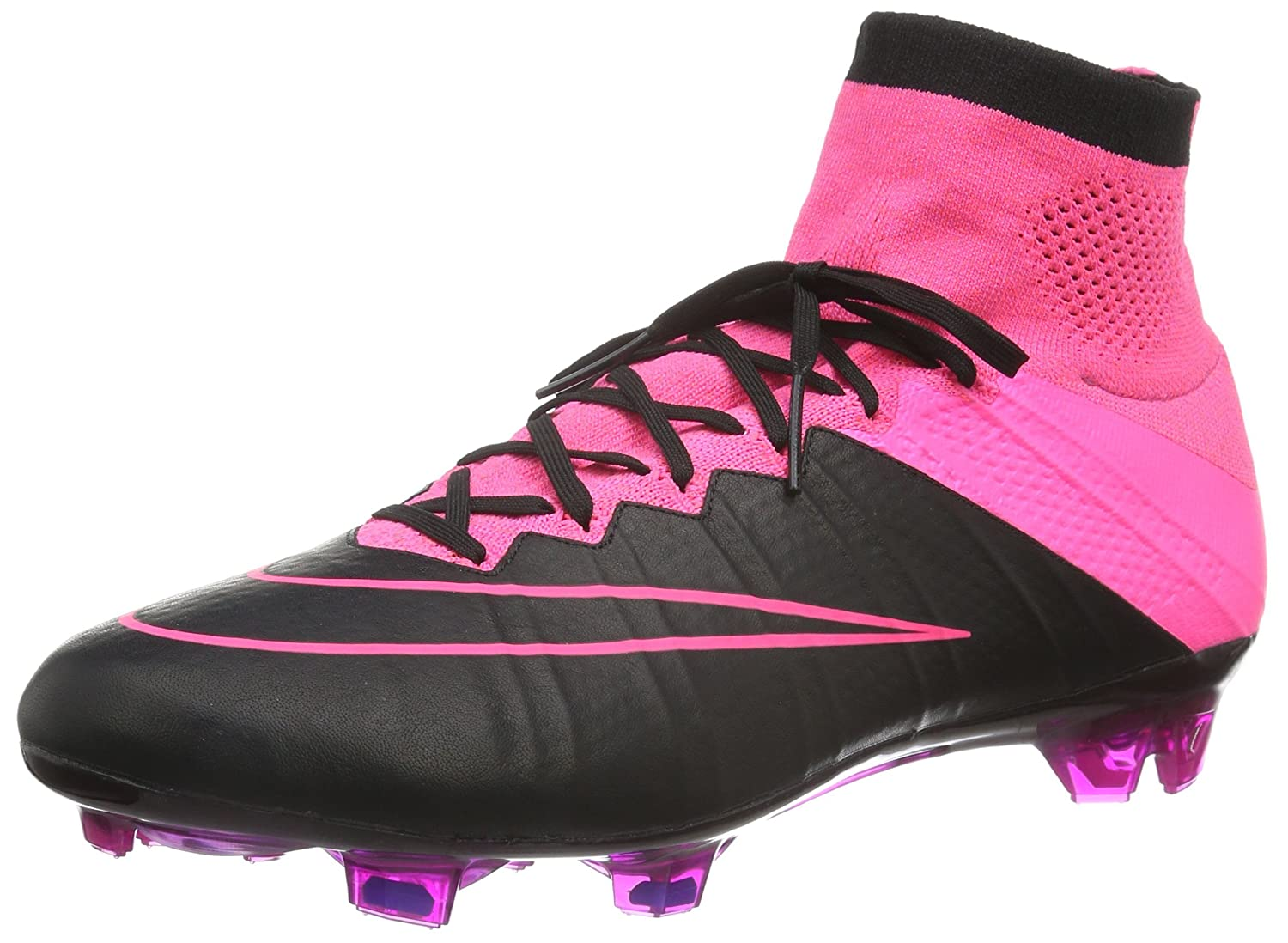 online store 743fd eda2d Amazon.com | Nike Mercurial Superfly Leather FG 747219-006 ...