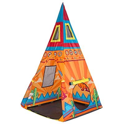 "Pacific Play Tents 39610 Sante Fe Giant Tee Pee - 36"" x 36"" x 67"": Toys & Games"