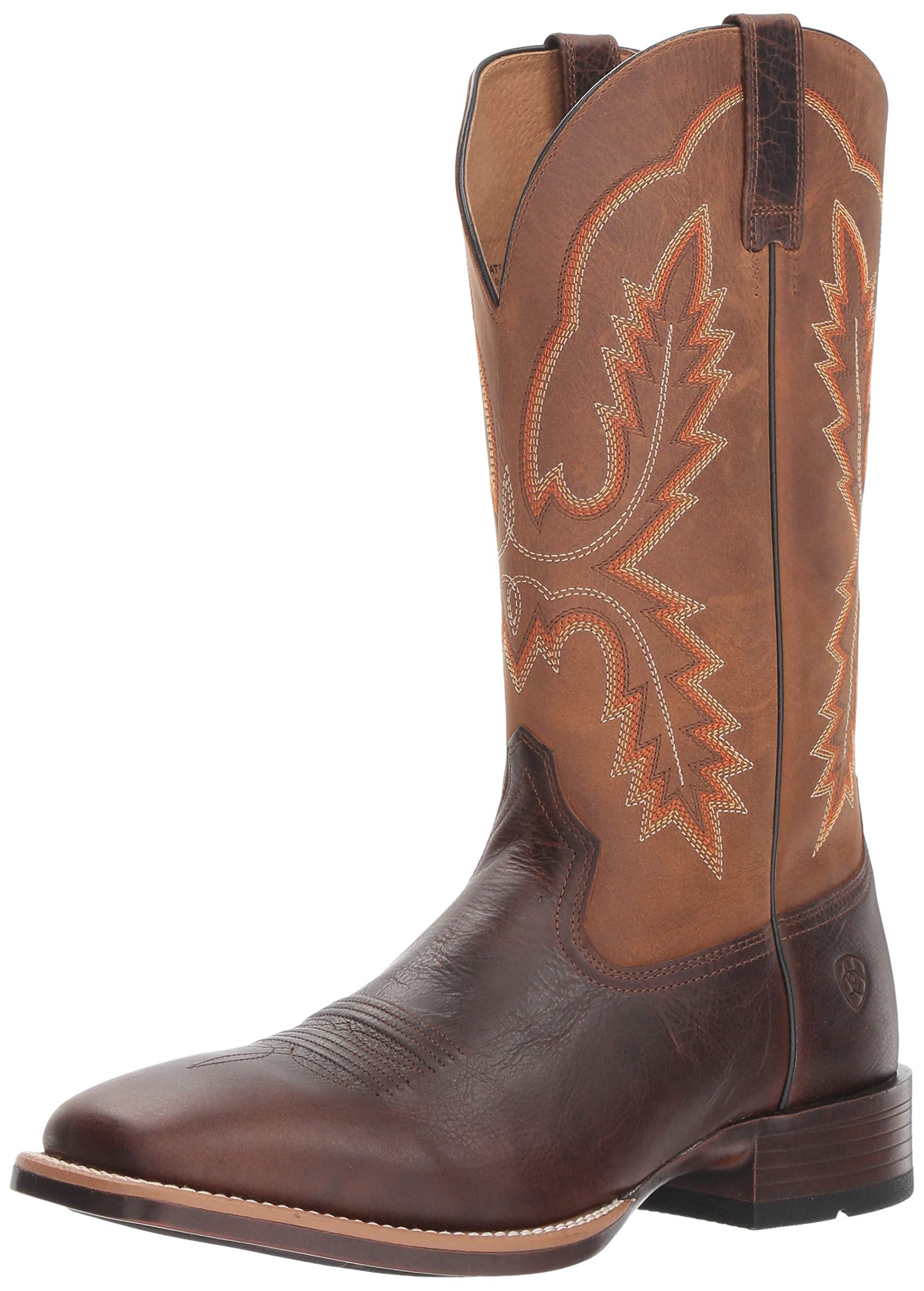 Ariat Men's PECOS Western Boot, Wicker, 13 2E US by ARIAT