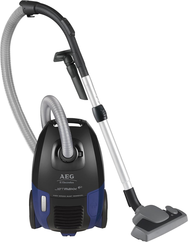 AEG AJM 6818HF - Aspirador con bolsa, 2300 W, color azul y negro ...
