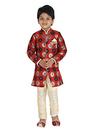 f8db96ada667 Amazon.com  KLAUD ZEE Kids Indian Ethnic Bollywood Style Festive and ...